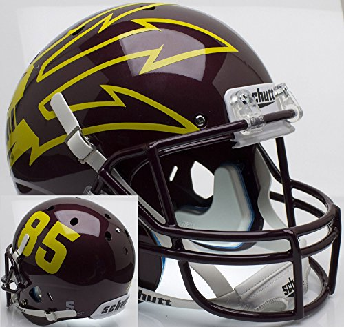 ARIZONA STATE SUN DEVILS Schutt AiR XP Full-Size REPLICA Football Helmet ASU (MAROON/#85)