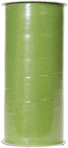 (Darice 2913-32 6-Inch-by-25-Yard Tulle, Sage Green )
