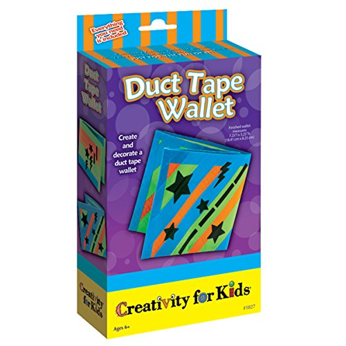 Duct Tape Wallet Kit (Creativity For Kids Duct Tape Wallet)