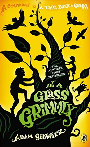book cover of In a Glass Grimmly