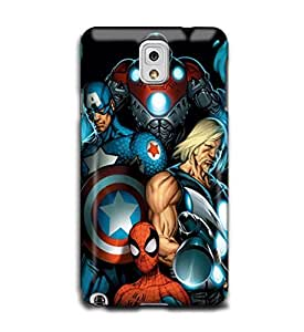 Tomhousomick Custom Design Forever Hero Spider Men Case for Samsung Galaxy Note3 N9000 Back Cover #34 Spider-man by ruishername
