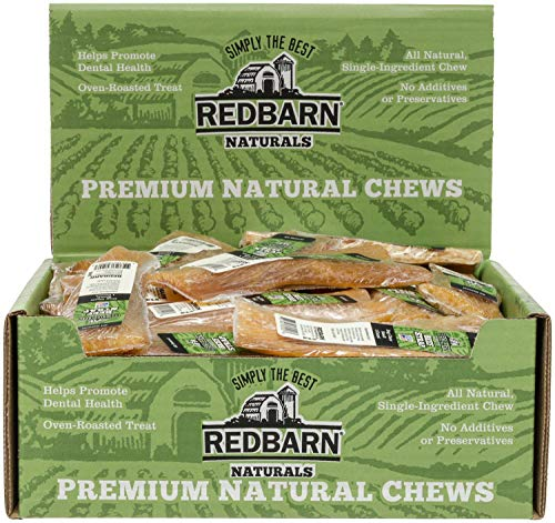 REDBARN Beef Strap Dog Chew, Small, Naturals, 50 Count