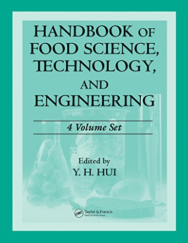 Handbook of Food Science, Technology, and Engineering - 4 Volume Set (Food Science and Technology) Pdf
