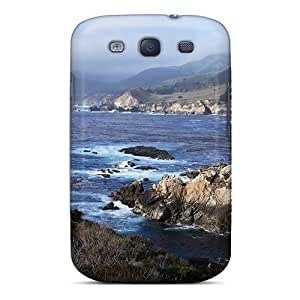 Durable Protector Case Cover With California Seacoast Hot Design For Galaxy S3 by Maris's Diary