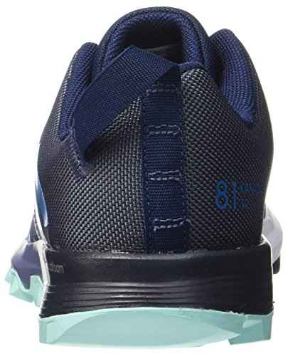 Trail Navy Running Bleu collegiate 8 Kanadia 1 Petrol energy Femme mystery De Chaussures Adidas Aqua Entrainement qPtYww