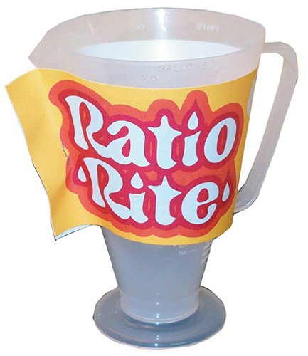 - Ratio Rite Perfect Gas - Oil Mixture - CUP ONLY!