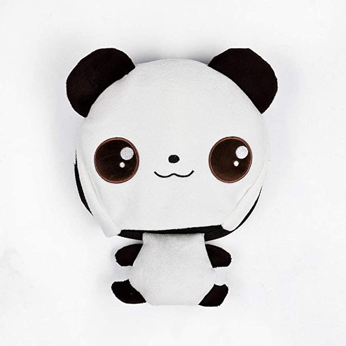 White Panda USB Hand Warmer Mouse Pad-Comfortable Heated Mouse Pad Keep Your Hands Warm in Winter with Heating Pad
