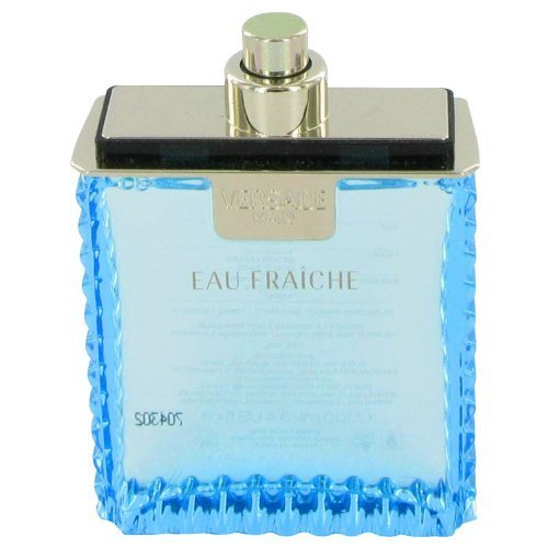 Versace Man Cologne By VERSACE 3.4 oz Eau Fraiche Eau De Toilette Spray (Tester) FOR MEN