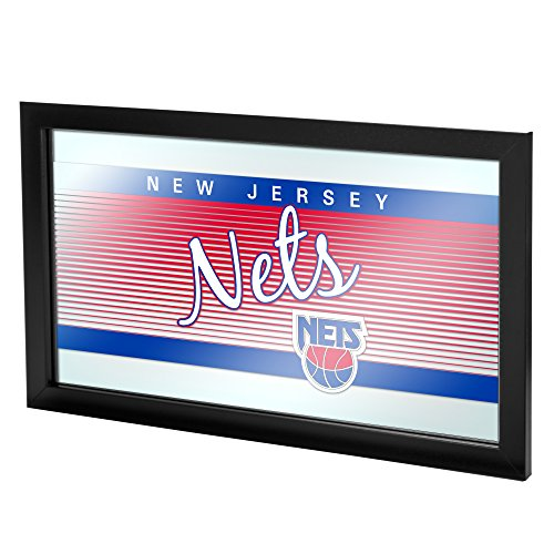 NBA New Jersey Nets Logo Mirror, One Size, ()