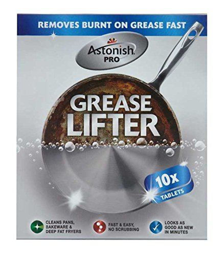 Astonish Pro Grease Lifter Tablets - Pack of 10 B010ZJ6KJA