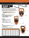 Keson G150 Giant Chalk Line Reel, 24-Ounce Chalk Capacity, 150-Foot