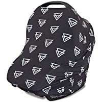 Stretchy 3-in-1 Carseat Canopy | Nursing Cover | Shopping Cart Cover | Infini...