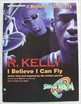 i believe i can fly for voice piano guitar from space jam original sheet music edition