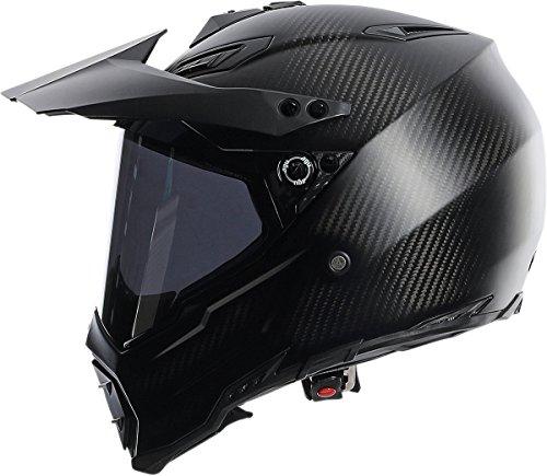 AGV AX-8 Dual Sport Evo Helmet (Matte Carbon, XXX-Large) by AGV (Image #4)
