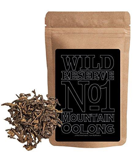 Aged Tea Oolong Tea (Organic Pu-erh Black Tea, Wild Reserve 1000-year Pu-Erh, Aged 12 months min, Wild Foods (4 ounce))