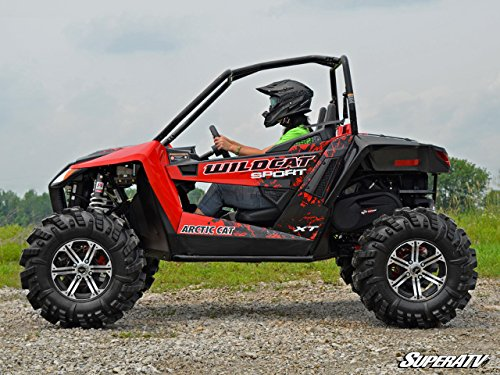 Bundle 2 items: SuperATV Artic Cat Wildcat Trail Sport Lift Kit - 2-3 Inch Adjustable and FREE Unhinged ATV Multi-Tool by SuperATV.com (Image #1)