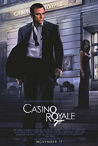 Casino Royale 2006 S/S Movie Poster 11x17