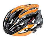 QHY FJQXZ Ultralight 26 Vents PC+EPS Orange Cycling Helmet