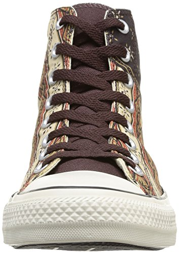 Converse Chuck Taylor All Star Homme Americana HI, Sneaker, Uomo Marrone (Braun (92 Marron/Rouge))