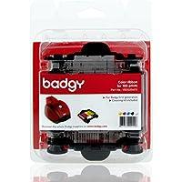 Evolis YMCKO Color Ribbon - 100 prints For Badgy1 Printers (VBDG204EU)
