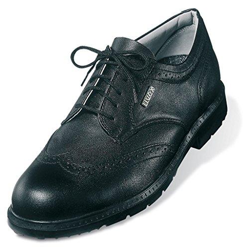 nbsp;bureau Chaussure Noir Avec Taille Intermédiaire 8 Semelle 39� Richelieu 9542 Uvex 2000000000007 HSpqpa