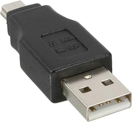 Inline Usb 2 0 Adapter Stecker A Auf Mini 5pol Computer Zubehör