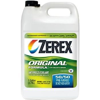 Zerex Original Green Antifreeze/Coolant, Ready to Use - 1gal (ZXRU1)