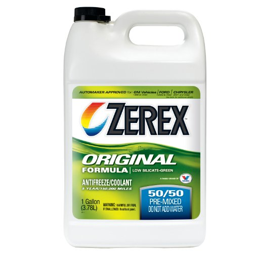 Zerex Original Green Antifreeze/Coolant, Ready to Use - 1gal (ZXRU1)