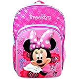 Personalized Licensed Disney Character Backpack - 16 Inch (Disneys Minnie Mouse)