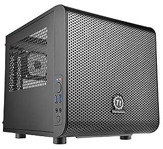 Thermaltake Core V1 Black Edition SPCC Mini ITX Cube Computer Chassis CA-1B8-00S1WN-00 (B00M2UKGSM) | Amazon price tracker / tracking, Amazon price history charts, Amazon price watches, Amazon price drop alerts
