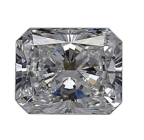 GIA Certified Radiant Cut Natural Loose Diamond 0.5 Carat E Color VS1 Clarity - 1/2 Ct - Vs1 Clarity Loose Diamond