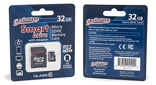 Devicewear 32 GB Micro SDHC Class Micro SD Cards