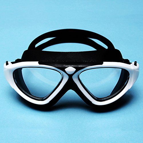 Impermeables Marco de Blanco Las los la de de de de antivaho Gafas los ZHJING Blanco del natación natación Hombres Transparentes Grandes Anteojos Color anteojos señoras de HD Hombres 6C8fCvwqx