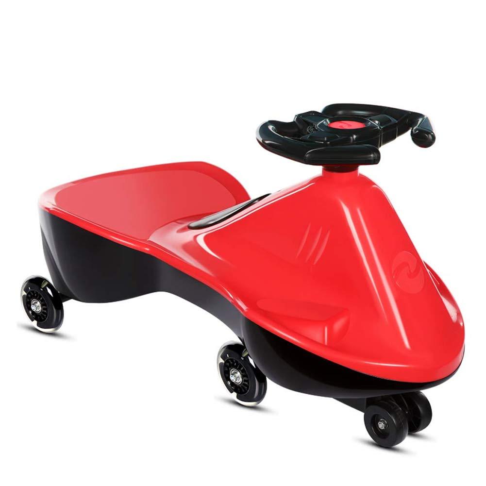 ordene ahora los precios más bajos rojo Hejok Bicicleta De Equilibrio 1-2, Twist Cars Trenzado Trenzado Trenzado De NiñOs para NiñOs 1-3 AñOs BebéS NiñOs Y NiñAs Baby Yo Car Girl Coche Patinaje Universal  precios bajos todos los dias