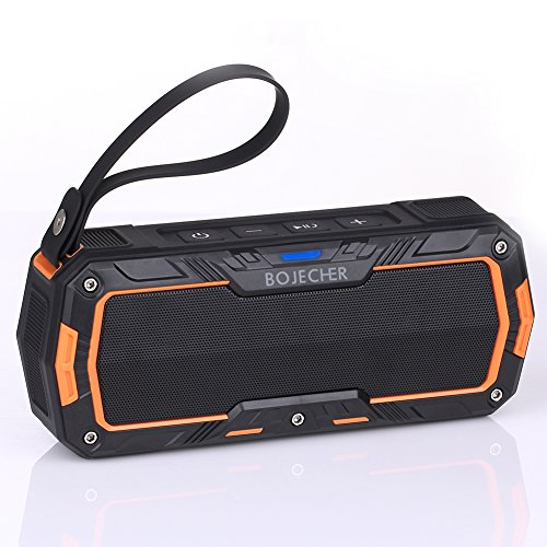 BOJECHER Portable Wireless Bluetooth Speaker USB Mic TF card Function by BOJECHER