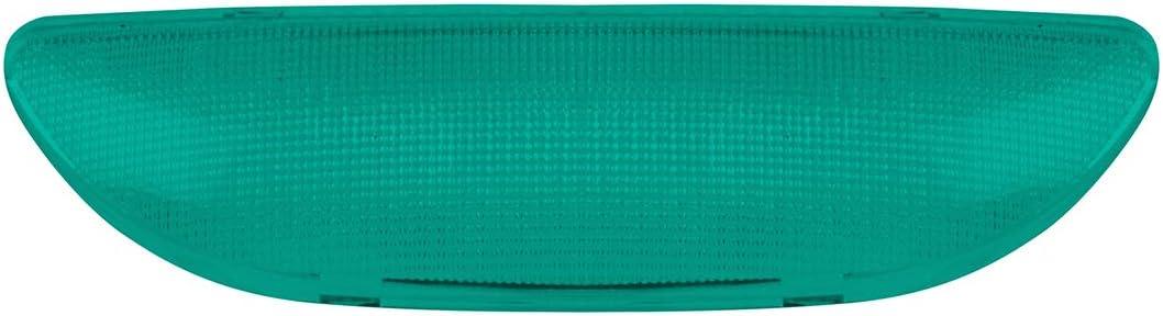 GG Grand General 68983 Green Rectangular Cab Dome Light Plastic Lens for Peterbilt 2006 Up