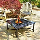 Asia Direct Garden Grove Marble Fire Pit