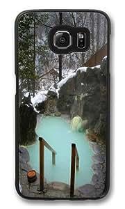 Bones Spa Polycarbonate Hard Case Cover for Samsung S6/Samsung Galaxy S6 Black