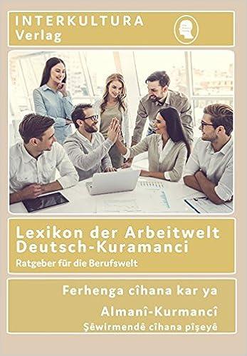 Book Lexikon der Arbeitwelt Deutsch-Kuramanci
