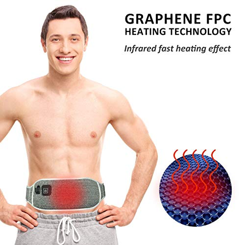portable waist heating pad belt