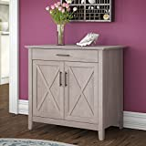 Best Bush Furniture Office Desks - Bush Furniture KWS132WG-03 Laptop Storage Credenza Key West Review