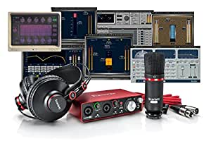 Focusrite Scarlett 2i2 Studio Bundle + Waves Musicians 2 + iZotope DDLY Dynamic Delay