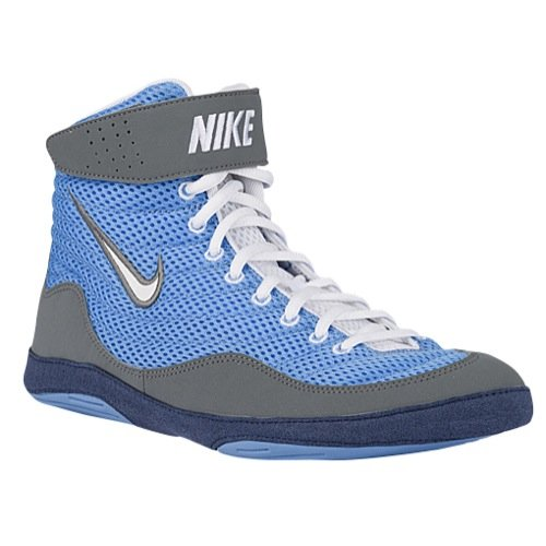 071a29b4e3d Nike Men s Inflict 3 Wrestling Shoes (Blue White Red