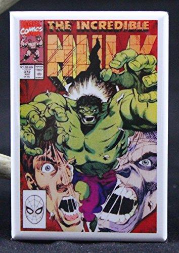 The Incredible Hulk #372 Comic Book Cover Refrigerator Magnet.
