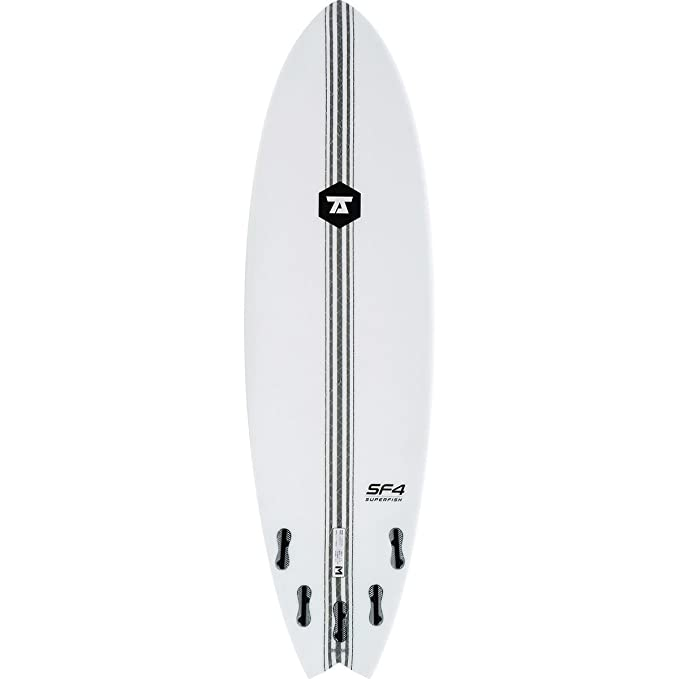 7S Super Fish 4 - Tabla de Surf Unisex, 63