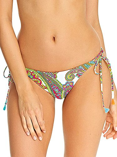 (Freya New Wave Rio Side Tie Bikini Bottom, L, Multi)