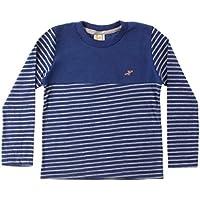 Camiseta Infantil Listras Royal - Hrradinhos