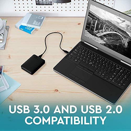 Western Digital Elements Portable, externe Festplatte - 2 TB - USB 3.0 - WDBU6Y0020BBK 2