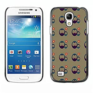 ZECASE Funda Carcasa Tapa Case Cover Para Samsung Galaxy S4 Mini I9190 No.0000299