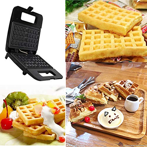 MSOO Electric Waffles Maker Sandwich Machine Egg Cake Oven Breakfast Device (A) ()